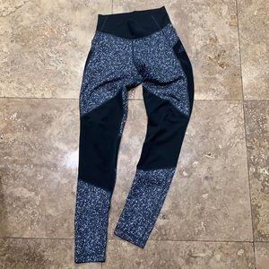 Adidas Climalitr black and gray leggings XS